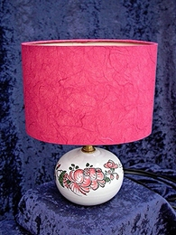 A/ T00  Lampe Roses roses