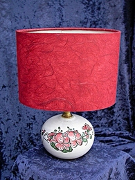 A/ T00  Lampe Roses rouges