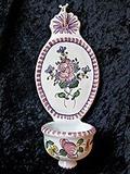 Bénitier à suspendre rose manganèse