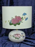 Lampe T1 à la Rose manganèse