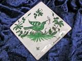 sur commande : Carreau décoratif motif palombe
